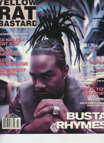 Winter 2001 Busta Rhymes - Print Magazine Covers 1999-2018