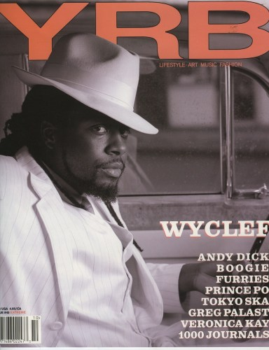 Wyclef - Print Magazine Covers 1999-2018