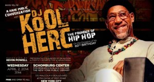 kolherc - A Rare Public Conversation with DJ KOOL HERC, The Founder Of #HipHop, Moderated by @kevin_powell @DjKoolHerc