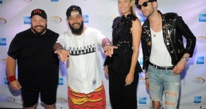 American Express Rally on the River with Maria Sharapova Kevin James and Chromeo edit1 - Event Recap: #RallyontheRiver Maria Sharapova, Kevin James, John Isner, Monica Puig, and Chromeo American Kick-Off the #USOpen #AmexTennis