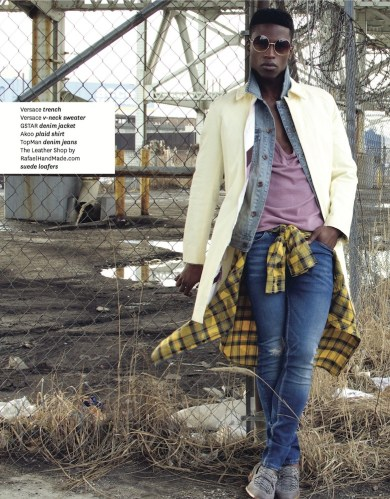 t9 - In the Trenches with Nam @namgarsinii @dariusbaptist @TheLucioCastro @CarlosCamposNYC @plac_jeans @AkooClothing #fashion #ss2016 #trenchcoats