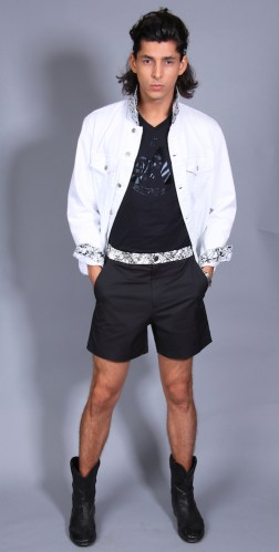Marcio - ARTISTIX with Andy Hilfiger SS17 @ArtistixJeans #nyfwm #cfda #nyfw