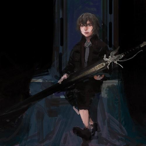 Image Noctis - The Magic of Kingsglaive: Final Fantasy XV Exhibit August 19-September 3rd, 2016 @hpgrpgalleryny @kingsglaive