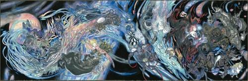 amano yoshitaka - The Magic of Kingsglaive: Final Fantasy XV Exhibit August 19-September 3rd, 2016 @hpgrpgalleryny @kingsglaive