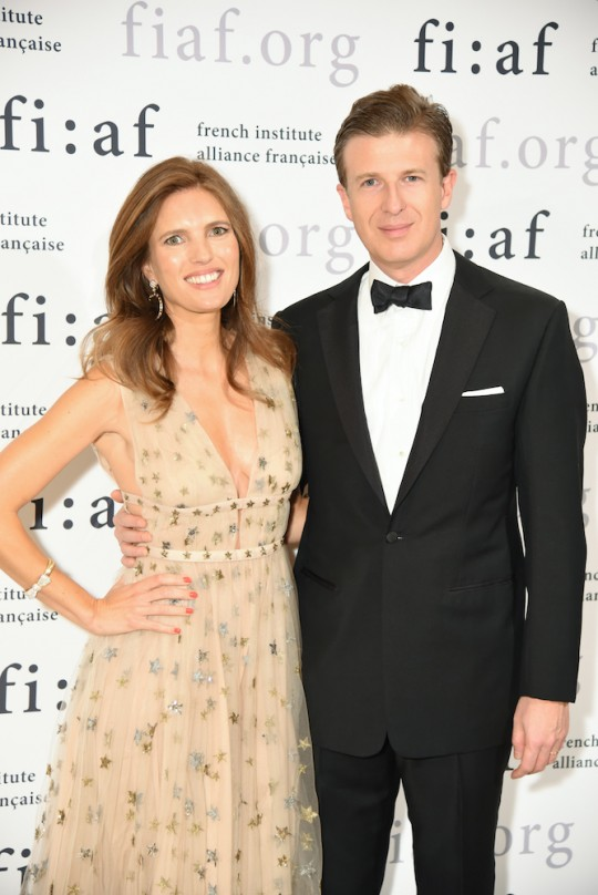 16 Clemence and WIlliam VON MUEFFLING 540x808 - Event Recap: Jeff Koons and Jean-Paul Agon honored at FIAF's Trophée des Arts Gala @FIAFNY #JeanPaulAgon @JeffKoons