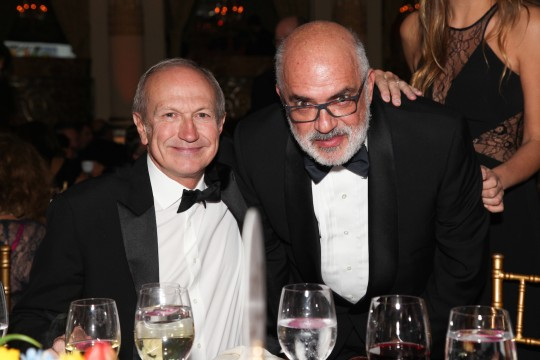 17 Jean Paul Agon and Ron Agam 540x360 - Event Recap: Jeff Koons and Jean-Paul Agon honored at FIAF's Trophée des Arts Gala @FIAFNY #JeanPaulAgon @JeffKoons