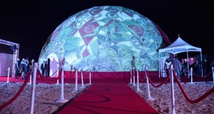 "627113314 620x413 - Event Recap: Kendrick Lamar performs for American Express's ""Art Meets Music"" Campaign with Shantell Martin at the Faena Dome #Miami #ArtBasel  @kendricklamar @shantell_martin #AmexAccess"