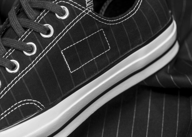 156451C Fragment Striped 02 Left Detail rectangle 1600 920x657 - #STYLEWATCH: @Converse and Fragment Design Collaborate on Chuck '70 Collection #ForeverChuck