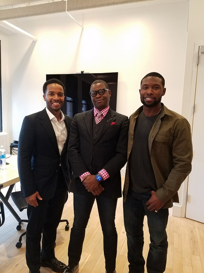 m31 - Feature: Moonlight Interview with André Holland and Trevante Rhodes @_Trevante_ @moonlighmov @A24