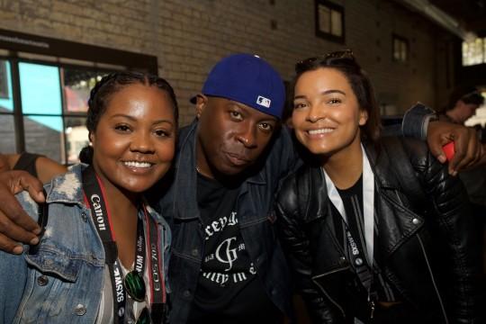 Alexis Ashley Vince Wilburn Jr 540x360 - Event Recap: Miles Davis House at SXSW @MilesDavis @OMMASDOTCOM  @erindavisMDP @NefofMiles #MilesDavis #SXSW #DayParty #MilesAhead