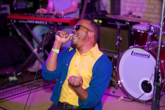 Durand Jones Performance shot 540x360 - Event Recap: Miles Davis House at SXSW @MilesDavis @OMMASDOTCOM  @erindavisMDP @NefofMiles #MilesDavis #SXSW #DayParty #MilesAhead