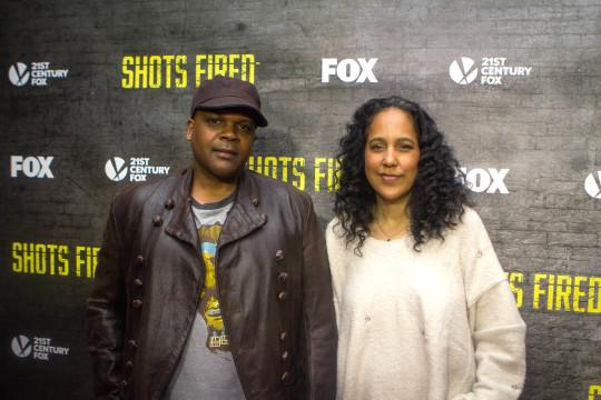 Reggie Bythewood Gina Bythewood 540x360 - Event Recap: Shots Fired Screening New York City @RocktheFilm @realstephj @justsanaa @MACKWILDS @GPBmadeit @RichardDreyfuss @JillHennessy #shotsfiredfox
