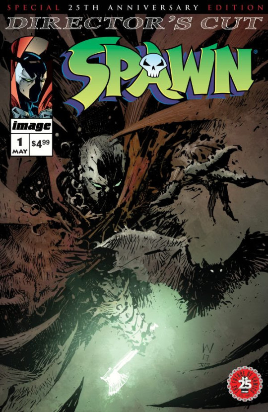 sg 540x829 - Spawn #1 Reborn with 25th Anniversary Edition @ImageComics @Todd_McFarlane