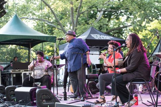 Toshi Reagon 5 540x360 - Event Recap: Mavis Staples and Toshi Reagon at Summerstage @mavisstaples @biglovely1 @summerstage