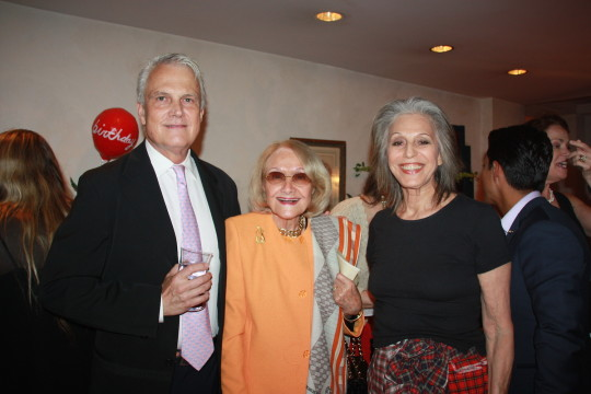 Thomas Knapp Laura Pels Publicolor Founder Ruth Lande Shuman 540x360 - Event Recap: Carmen Herrera Cocktails & Conversation @PublicolorNYC @MMViverito @The100YearsShow