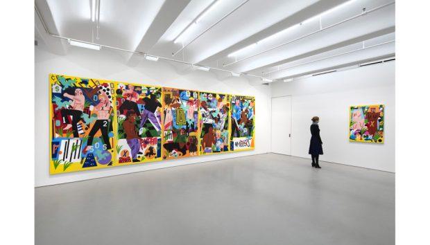 NCA Seized the Imagination site 4 920x526 - Nina Chanel Abney Exhibition:  Seized The Imagination November 9—December 20, 2017 @ninachanel @JackShainman