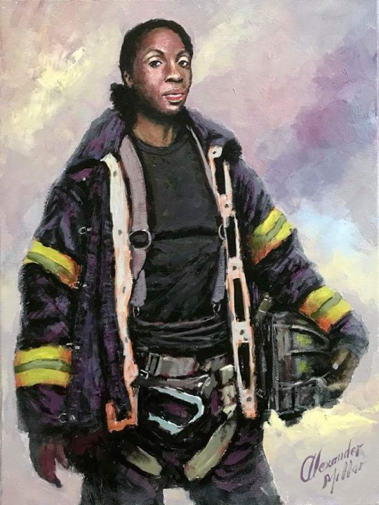 Image uploaded from iOS copy 540x718 - Alexander Millar's Everyday Heroes Exhibition and Pop-Up Gallery April 4 - 20th, 2018 @vscorresponding @FDNYMuseum @AlexanderMillar @FDNY