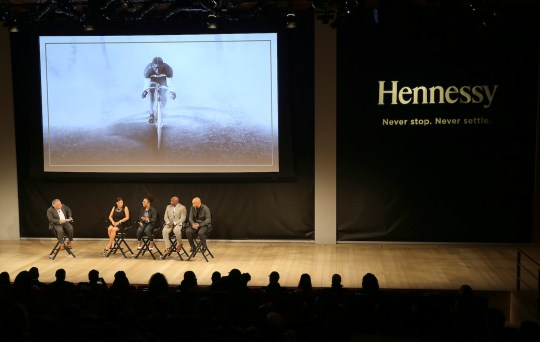 """Panel Discussion 540x342 - Event Recap: A """"Major"""" Premier by Hennessy @hennessyus @ayesuppose @nigelsylvester @KadirNelson @pyermoss #MarshallMajorTaylor"""
