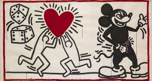 keith haring ohne titel 1982 c keith haring foundation.1200x0 - Keith Haring, The Alphabet exhibit March 16- June 2, 2018 at the @AlbertinaMuseum
