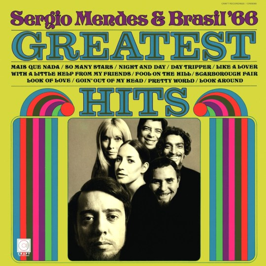 SERGIO MENDESBRASIL 66 GREATEST HITS COVER 540x540 - #VinylBase: Craft Recordings to reissue Sergio Mendes & Brasil '66 Greatest Hits on #vinyl @sergiomendes @CraftRecordings