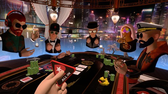Vive Pokerstars VR Macau 2050 540x304 - PokerStars previews Virtual Reality Poker @PokerStars #VR #virtualreality