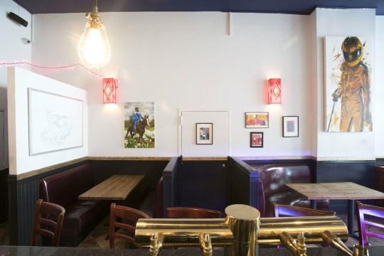 KillBar Interior 1 540x360 - The Quentin Tarantino Inspired KillBar Opens in Brooklyn, NYC