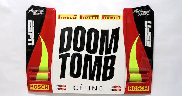 DOOM 01 - DOOM TOMB exhibition April 27-28, 2019 by David Gwyther aka #DeathSprayCustom @CCCManhattan