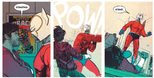 Screen Shot 2019 04 22 at 1.33.53 PM 540x276 - Mister Miracle TPB by Tom King and Mitch Gerads @TomKingTK @MitchGerads @DCComics #MisterMiracle