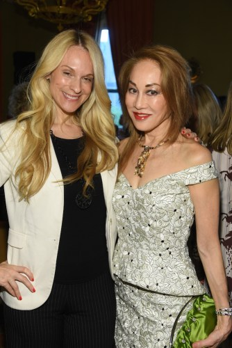 Consuelo Vanderbilt Costin and Lucia Hwong 334x500 - 6th Annual Collaborating For A Cure Ladies Luncheon To Benefit Cancer Research @donlemon @waxmancancer @lawlormedia