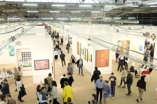 Overhead view Photo credit Courtesy of Art New York 540x360 - 5th Edition of Art New York May 2- May 5, 2019 at Pier 94 @artmiamifairs #ArtNewYork