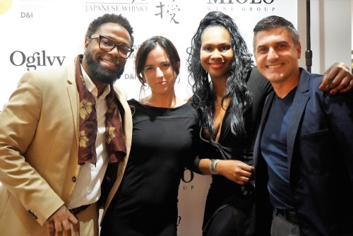 photos by Stella Magloire 125 2 - Event Recap: Danny Simmons Alone Together Private Reception at George Billis Gallery @ogilvy @rush_art @miolowinegroup_ #ShinjuWhisky #AloneTogether