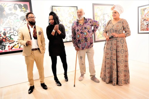 photos by Stella Magloire 186 - Event Recap: Danny Simmons Alone Together Private Reception at George Billis Gallery @ogilvy @rush_art @miolowinegroup_ #ShinjuWhisky #AloneTogether