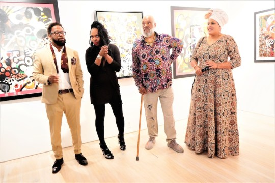 photos by Stella Magloire 186 540x360 - Event Recap: Danny Simmons Alone Together Private Reception at George Billis Gallery @ogilvy @rush_art @miolowinegroup_ #ShinjuWhisky #AloneTogether