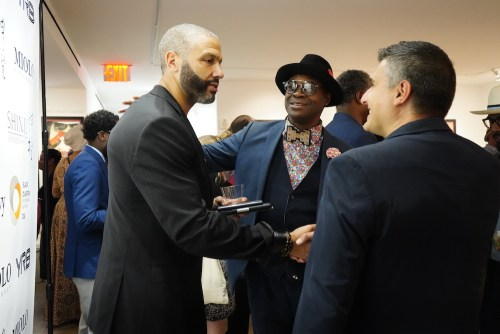 photos by Stella Magloire 246 - Event Recap: Danny Simmons Alone Together Private Reception at George Billis Gallery @ogilvy @rush_art @miolowinegroup_ #ShinjuWhisky #AloneTogether