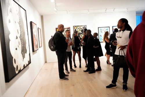 photos by Stella Magloire 249 - Event Recap: Danny Simmons Alone Together Private Reception at George Billis Gallery @ogilvy @rush_art @miolowinegroup_ #ShinjuWhisky #AloneTogether