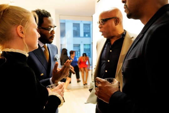 photos by Stella Magloire 257 540x360 - Event Recap: Danny Simmons Alone Together Private Reception at George Billis Gallery @ogilvy @rush_art @miolowinegroup_ #ShinjuWhisky #AloneTogether