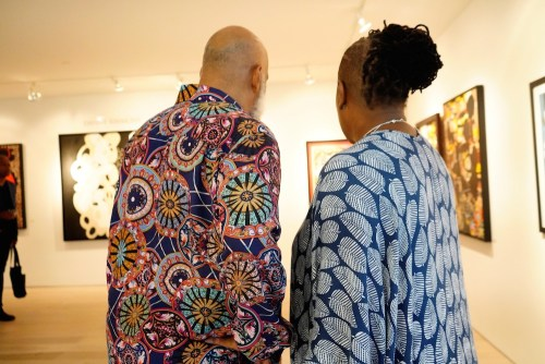 photos by Stella Magloire 26 2 - Event Recap: Danny Simmons Alone Together Private Reception at George Billis Gallery @ogilvy @rush_art @miolowinegroup_ #ShinjuWhisky #AloneTogether