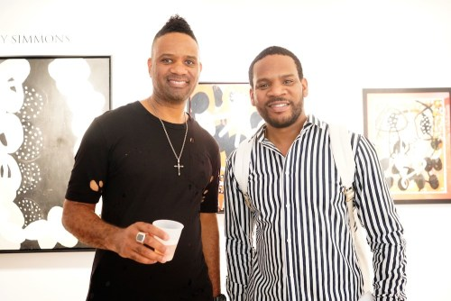 photos by Stella Magloire 267 - Event Recap: Danny Simmons Alone Together Private Reception at George Billis Gallery @ogilvy @rush_art @miolowinegroup_ #ShinjuWhisky #AloneTogether