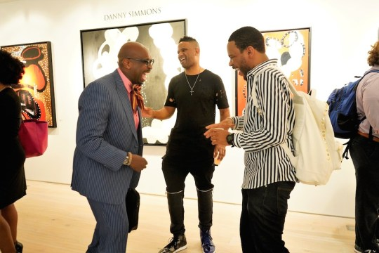 photos by Stella Magloire 279 540x360 - Event Recap: Danny Simmons Alone Together Private Reception at George Billis Gallery @ogilvy @rush_art @miolowinegroup_ #ShinjuWhisky #AloneTogether
