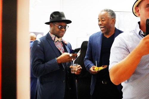 photos by Stella Magloire 38 - Event Recap: Danny Simmons Alone Together Private Reception at George Billis Gallery @ogilvy @rush_art @miolowinegroup_ #ShinjuWhisky #AloneTogether