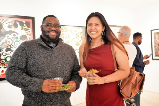 photos by Stella Magloire 41 540x360 - Event Recap: Danny Simmons Alone Together Private Reception at George Billis Gallery @ogilvy @rush_art @miolowinegroup_ #ShinjuWhisky #AloneTogether