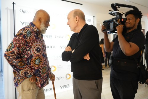 photos by Stella Magloire 49 2 - Event Recap: Danny Simmons Alone Together Private Reception at George Billis Gallery @ogilvy @rush_art @miolowinegroup_ #ShinjuWhisky #AloneTogether