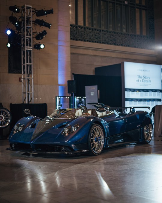 Pagani The Story of a Dream exhibition HP Zonda Barchetta model 540x675 - Pagani: The Story of a Dream exhibit in Grand Central Station November 4 - 8, 2019 @OfficialPagani @Pirelli #pagani #TheStoryofaDream #grandcentral
