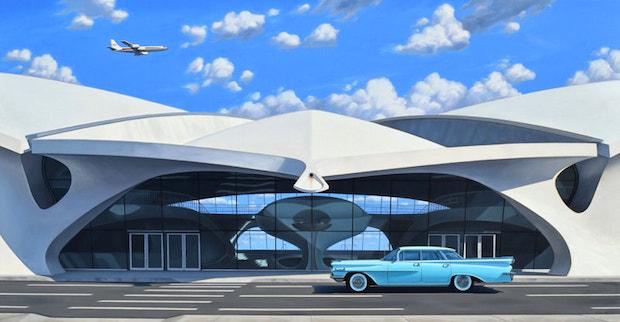 flight center - Danny Heller - Birth of the Cool Exhibit November 5 – December 7, 2019 at George Billis Gallery @Danny_Heller