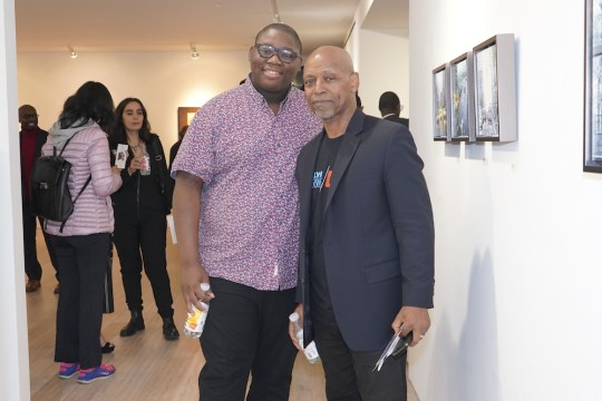 photos by Stella Maglore 126 540x360 - Event Recap: Karen Woods …Going Opening Reception at George Billis Gallery