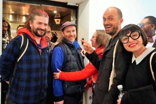 photos by Stella Maglore 237 540x360 - Event Recap: Karen Woods …Going Opening Reception at George Billis Gallery