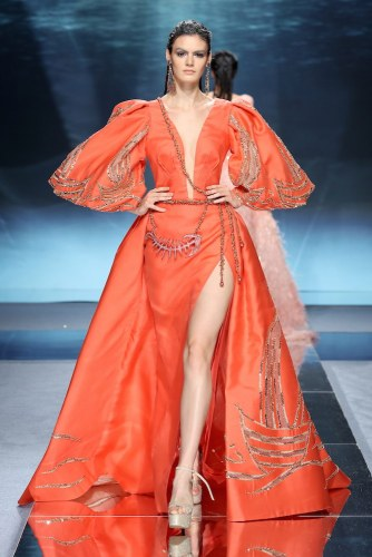 200122 2323 Nakad - Ziad Nakad #Atlantis #ParisFashionWeek Spring Summer Couture Collection 2020 @ZiadNakadWorld