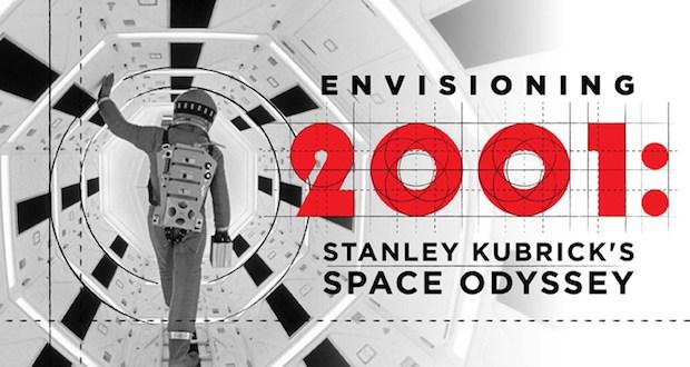 2001 logo - Envisioning 2001: Stanley Kubrick's Space Odyssey January 18–July 19, 2020 @MovingImageNYC #2001ASpaceOdyssey