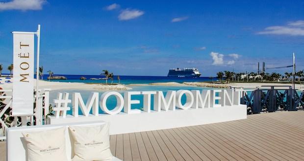 IMG 74193 copy - Moët & Chandon and Norwegian Cruise Line debut new luxury Ice Bar experience in the Bahamas. @MoetUSA @CruiseNorwegian