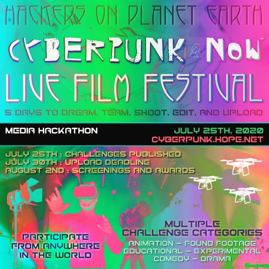 cy 540x539 - Cyberpunk Now Film Festival announced as part of HOPE 2020 Conference @cyberpunkfest @hopeconf @2600 #cyberpunk #hackers #film